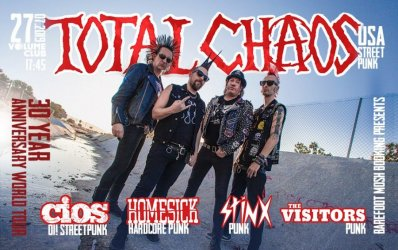 Липень.2019 / Київ<br>Total Chaos, Homesick, Stinx, The Visitors