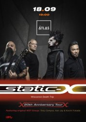 18.09.2019/ Atlas / Static X